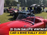 Video : 21 Gun Salute Vintage Car And Bike Rally 2020