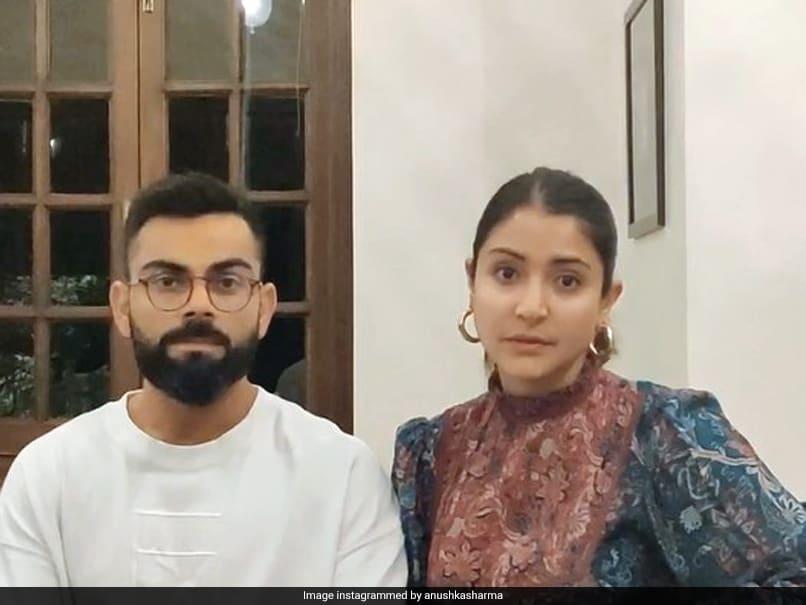 "Watch: Virat Kohli, Anushka Sharma Urge People To ""Stay Home And Stay Healthy"""