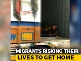 Video : Maharashtra Cops Opened 2 Trucks, Found Over 300 Migrant Workers