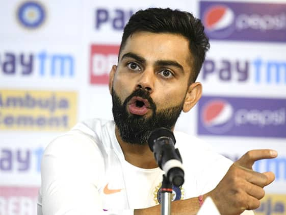 Kohli Snaps At Reporter For Questioning His On-Field Conduct