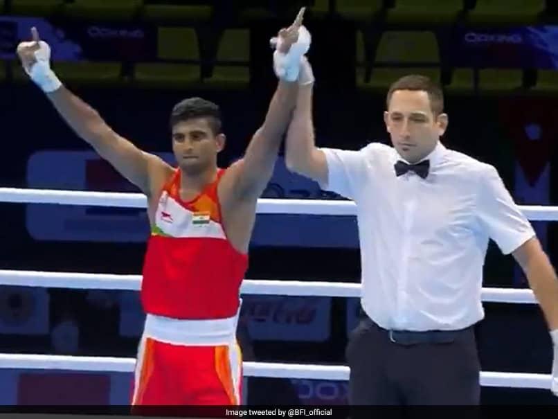Manish Kaushik entra a los cuartos de final del torneo español de boxeo