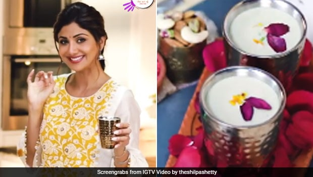 Shilpa Shetty's Holi Special Almond Milk Thandai Is All Things Healthy And Flavourful