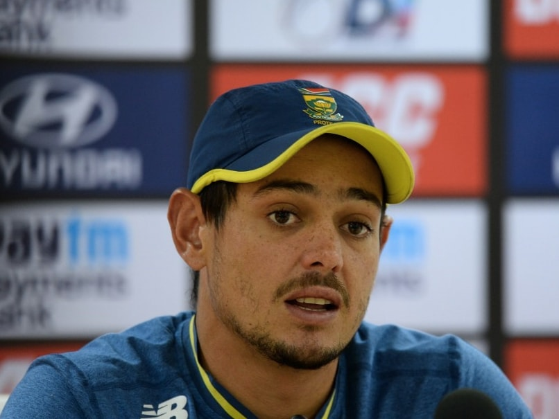 India vs South Africa: Quinton De Kock Banks On Faf Du Plessis Experience Ahead Of ODI Series In India