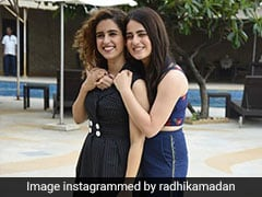Radhika Madan And Sanya Malhotra Enjoy 'Maa Ka Pyaar' In Comforting Home-Cooked Meal