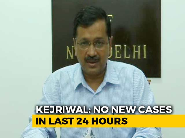 Video : Delhi Reported No COVID-19 Cases In Last 40 Hours: Arvind Kejriwal