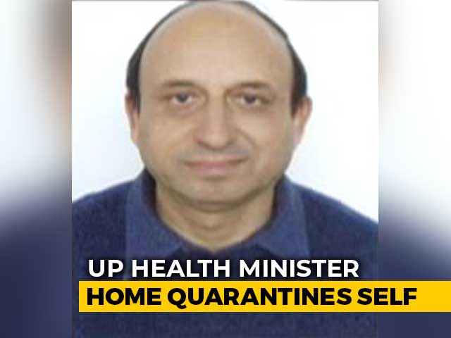 "Video : ""Stayed For An Hour"": UP Health Minister On Coronavirus Scare After Party"