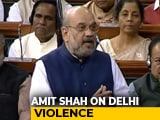 "Video : ""52 Indians Died, Won't Say Hindu-Muslim"": Amit Shah On Delhi Riots"