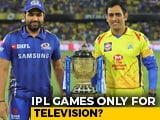Video : IPL Without Crowds? BCCI To Decide Amid Coronavirus Pandemic