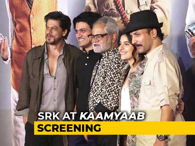 Shah Rukh Khan & Other Celebrities At The Screening Of Kaamyaab