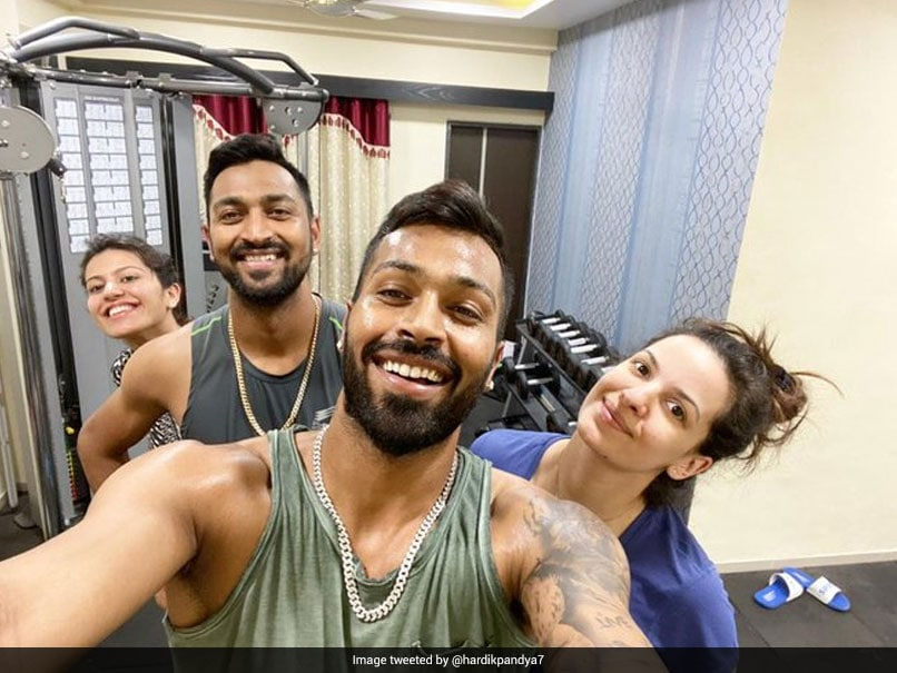 Hardik Pandya Shares Post-Workout Picture With Fiancee Natasa Stankovic, Family thumbnail