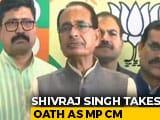 Video : Shivraj Singh Chouhan Takes Oath As Madhya Pradesh Chief Minister