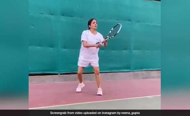 Neena Gupta, Who Played Tennis After Years, Writes: 'Kal Sab Ouch Hoga'