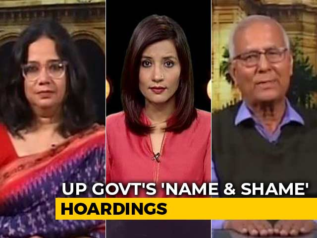 "Video : ""Lives Endangered,"" Says Ex-IPS Officer Named In UP's CAA ""Shame"" List"