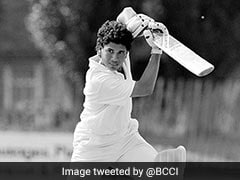 BCCI Shares Throwback To Sachin Tendulkar's First Knock As An Opener