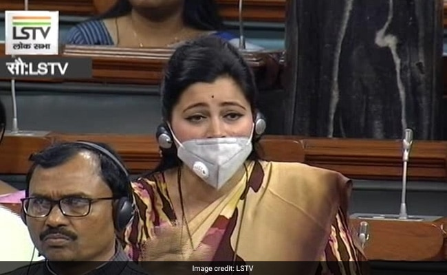 Independent MP Asks Question Wearing Mask In Lok Sabha
