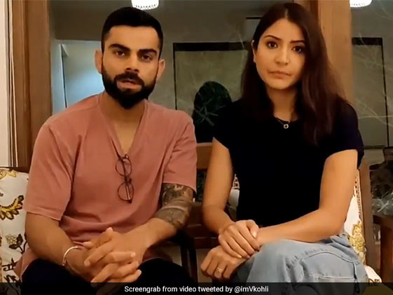 अनुष्का शर्मा और विराट कोहली ने लिया कोरोनावायरस से जंग जीतने का प्रण, बोले- आपकी एक लापरवाही हमें...
