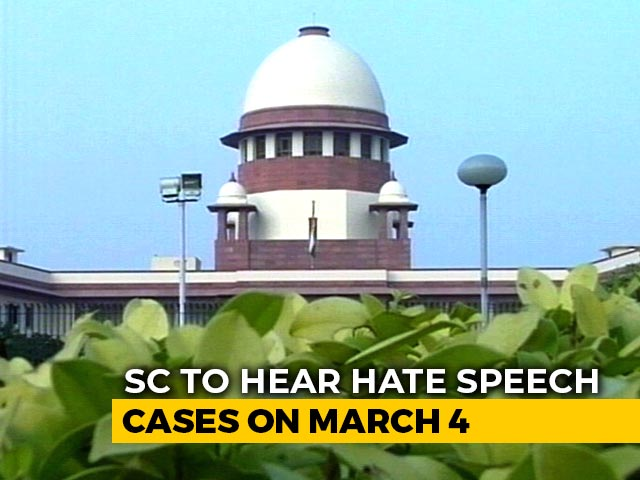 """Video : """"Wish For Peace But Limited Power"""": Top Court To Hear Hate Speech Cases"""