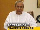 Video : On 20 Years Of Naveen Patnaik's Government, Some Big-Ticket Announcements