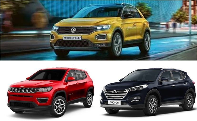 The Volkswagen T-Roc is the newest SUV in this segment and is priced at Rs. 19.99 lakh