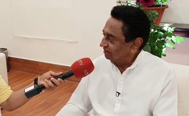 Madhya Pradesh Congress Chief Kamal Nath Holds Meeting With Party MLAs