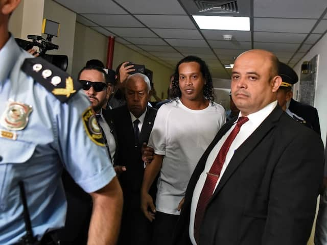 Football Great Ronaldinho, Brother Arrested In Paraguay