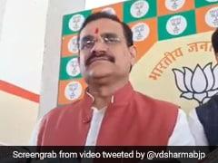 No Attempt Being Made To Destablise Madhya Pradesh Government: BJP