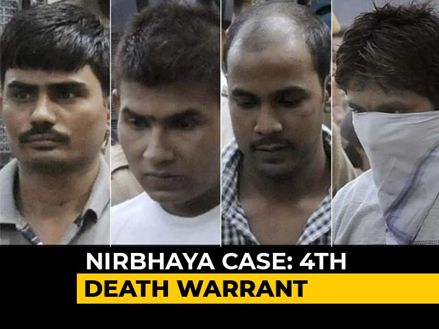Video : Nirbhaya Convicts To Hang On March 20 At 5:30 am, Says Delhi Court