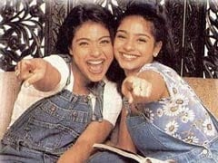 Kajol's Throwback Pic With Sister Tanishaa Mukerji Is Sibling Goals