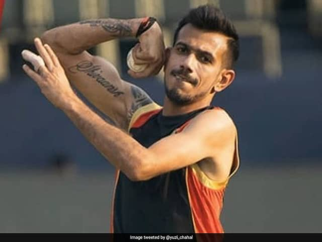 Yuzvendra Chahal Posts Photo Wearing Face Mask En Route To lucknow