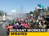 Video : Disinfectant Sprayed On Migrants On Return To UP, Shows Shocking Video