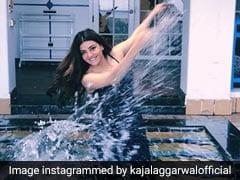 सिंघम की एक्ट्रेस ने स्विमिंग पूल में ला दी सूनामी, पानी में यूं किया छपाछप- Photos ने मचाई धूम