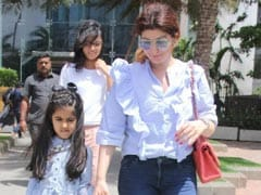 """""""Given Up,"""" Writes Twinkle Khanna As Nitara's """"Accidental"""" Antics Keep Her Very Busy"""