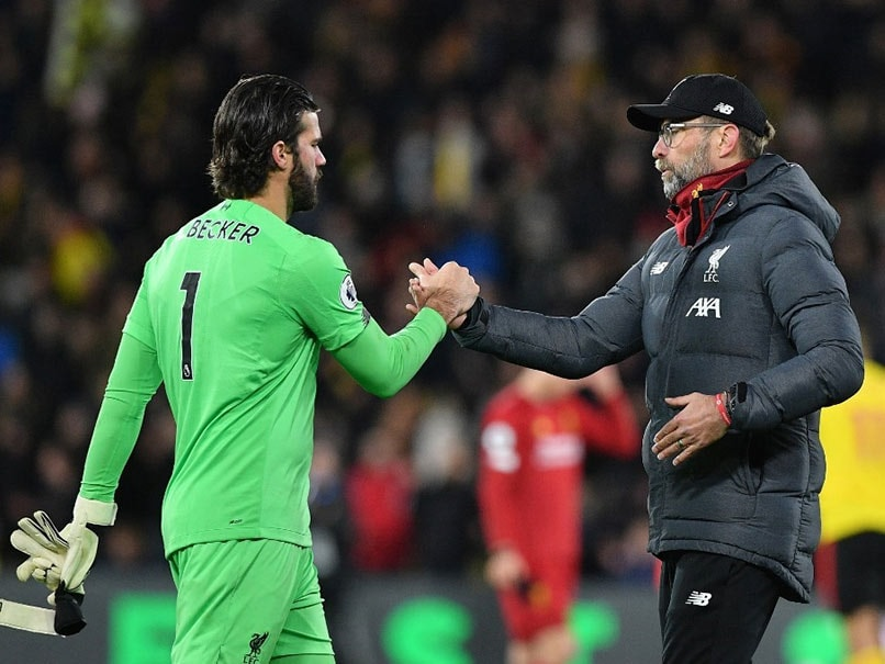 Champions League: Alisson Becker Ruled Out Of Liverpools Atletico Madrid Showdown