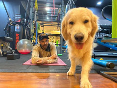 """This Cutie-Pie Who Stole The Show In Hrithik Roshan's """"Stay At Home"""" Post"""