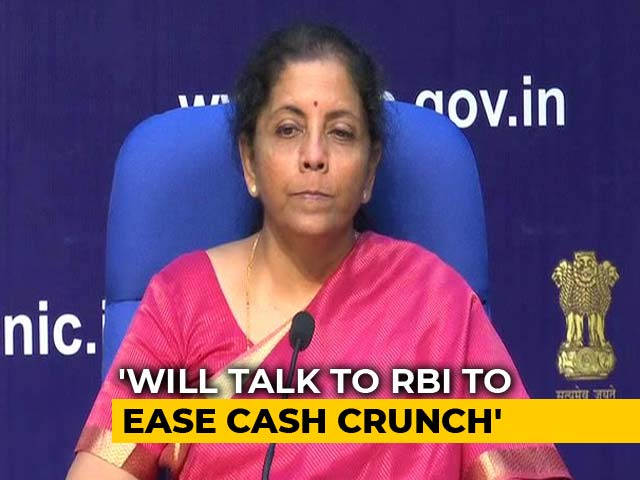 """Video: """"Your Money Is Safe,"""" Nirmala Sitharaman Assures Yes Bank Depositors"""