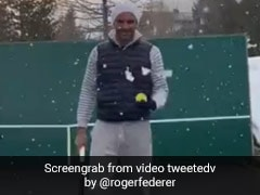 "Coronavirus: Roger Federer Keeps Himself Busy Practicing ""Trick Shots"" At Home. Watch Video"
