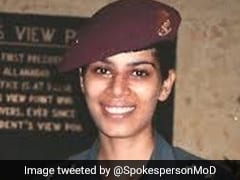 Meet Captain Ruchi Sharma, The First Operational Paratrooper Of Indian Army