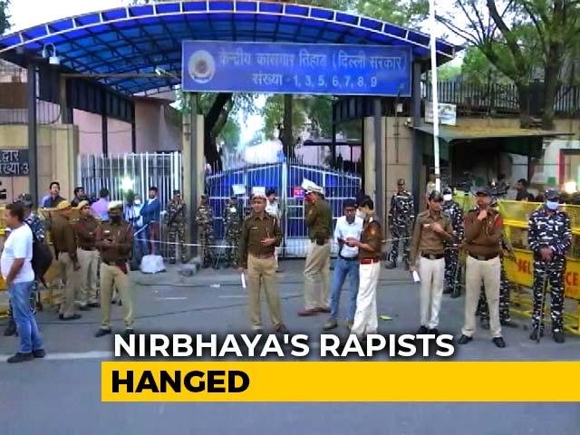 Video : 7 Years Later, Nirbhaya's Killers Hanged