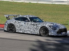 Mercedes-AMG GT Black Series Spotted Testing In Europe