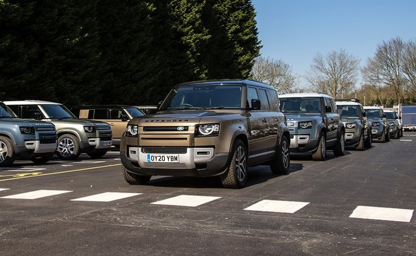 The Land Rover Defender is known for its off-road capabilities and the new version lives up to the name