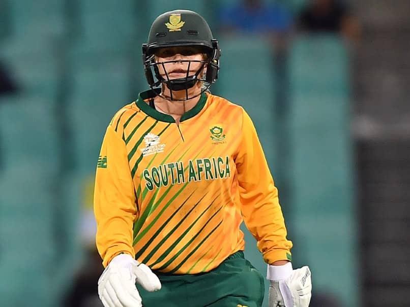 "Womens T20 World Cup: Losing Semi-Final Better Than ""Free Pass"" To Final, Says Dane van Niekerk"
