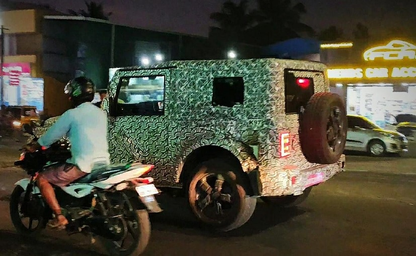 The 2020 Mahindra Thar SUV is likely to be offered in both petrol and diesel versions