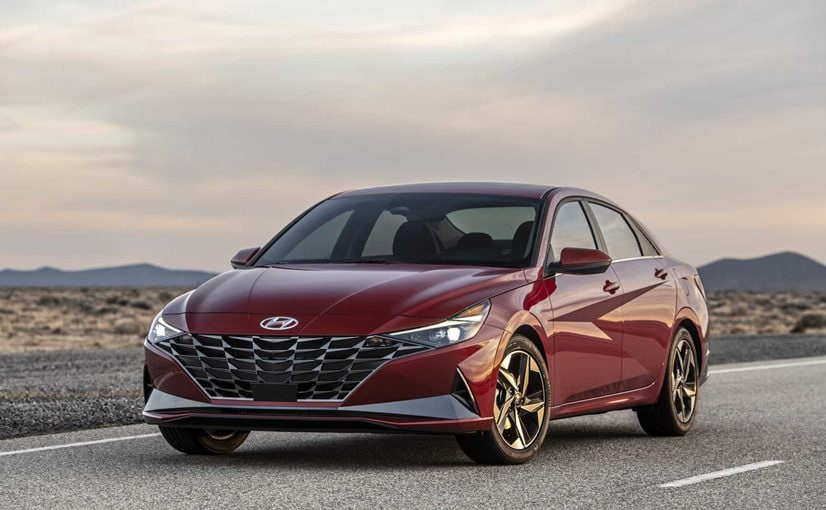 2021 Hyundai Elantra Breaks Cover With More Tech And Hybrid Option