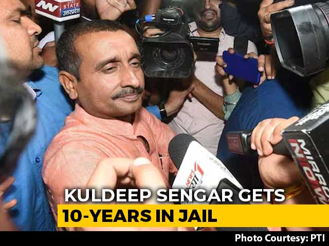 Video : Kuldeep Sengar Gets 10-Year Jail For Murder Of UP Rape Survivor's Father