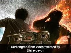 अजय देवगन ने शेयर किया RRR का मोशन पोस्टर, बोले- जब आग और पानी एक होते हैं...