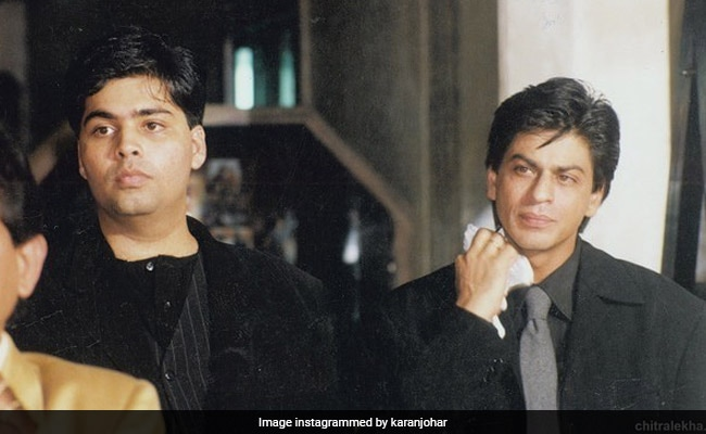 Karan Johar Reveals What's Making Shah Rukh Khan 'Sweat' In This Pic. BRB, Busy Laughing