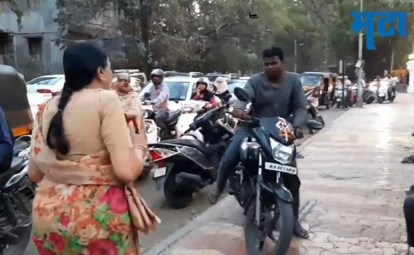 Anand Mahindra Applauds Pune Teacher For Getting Bikers Off Footpaths