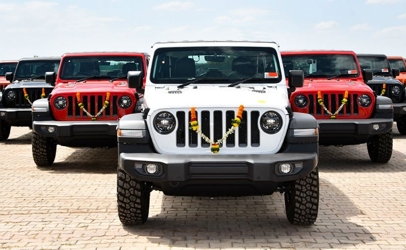 The Jeep Wrangler Rubicon is priced at a premium of Rs. 5 lakh over the standard model