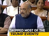 "Video : ""I Wasn't Absent, Was Holding Review Meetings"": Amit Shah On Delhi Riots"