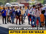Video : Walking Home From Delhi For Over 200 km, Delivery Agent Dies On Highway